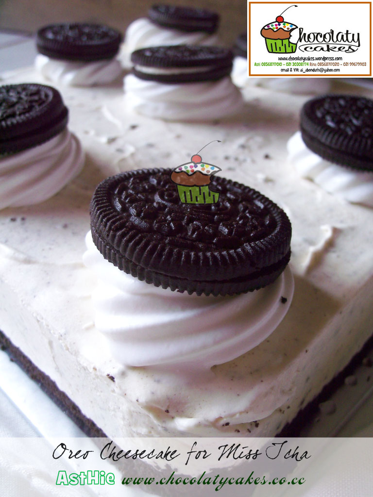 Oreo Cheesecake for Miss Icha