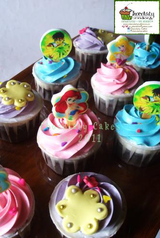 PrincessBen10CupcakesforMbakEno-ChocolatyCakes