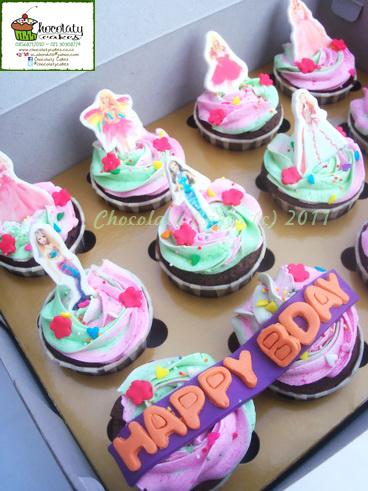 BarbieCupcakesforKeisha-ChocolatyCakes