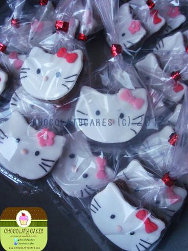 Hello Kitty Cupcakes Cookies