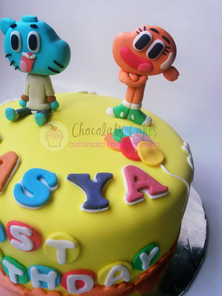 AmazingWorldofGumballforLasya-ChocolatyCakes