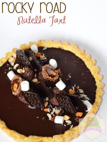 RockyRoadNutellaTart-ChocolatyCakes
