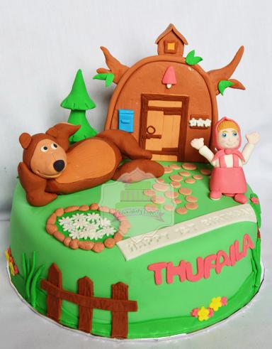 MashaThe BearforThufaila-ChocolatyCakes