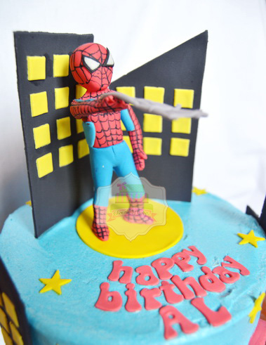 SpidermanCakeforAl-ChocolatyCakes