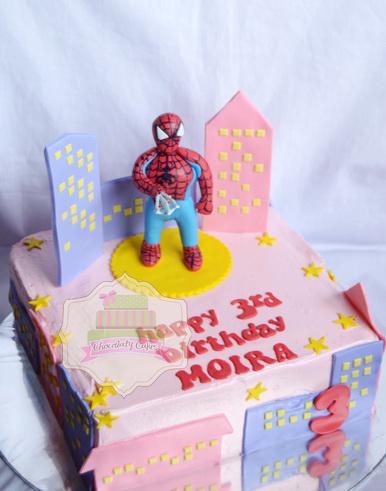 SpidermanCakeAlphabetCookiesforMoira-ChocolatyCakes