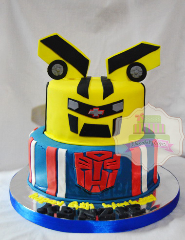 TransformersCakeforKenzie-ChocolatyCakes
