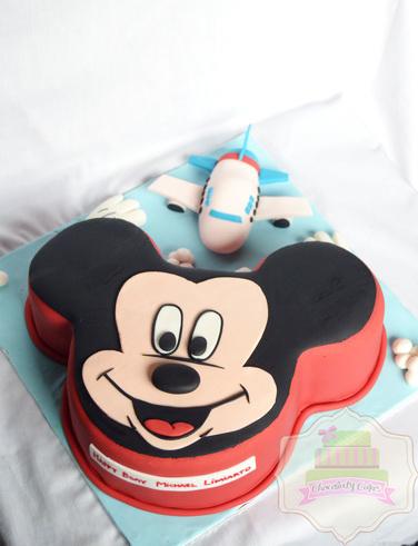 MickeyMouseAirplaneCakeforMichael-ChocolatyCakes