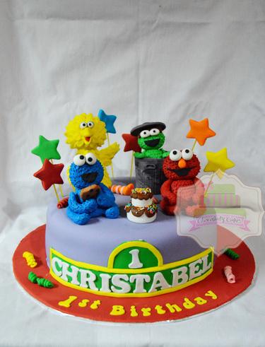 SesameStreetCakeforChristabel-ChocolatyCakes