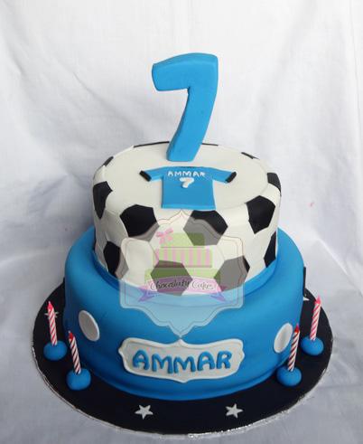 SoccerTieredCakeforAmmar-ChocolatyCakes