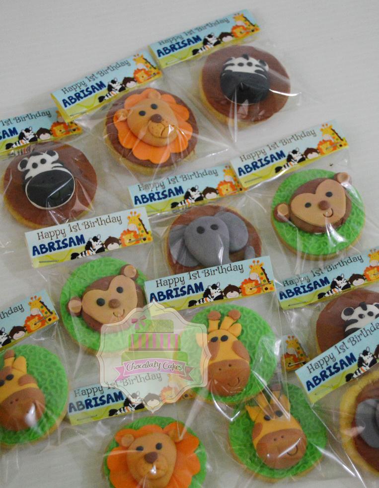 AnimalinJungleCakeCupcakesCookiesforAbrisam-ChocolatyCakes