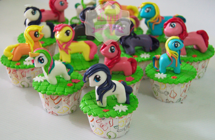 My Little Pony Cupcakes for Rania - Chocolaty Cakes