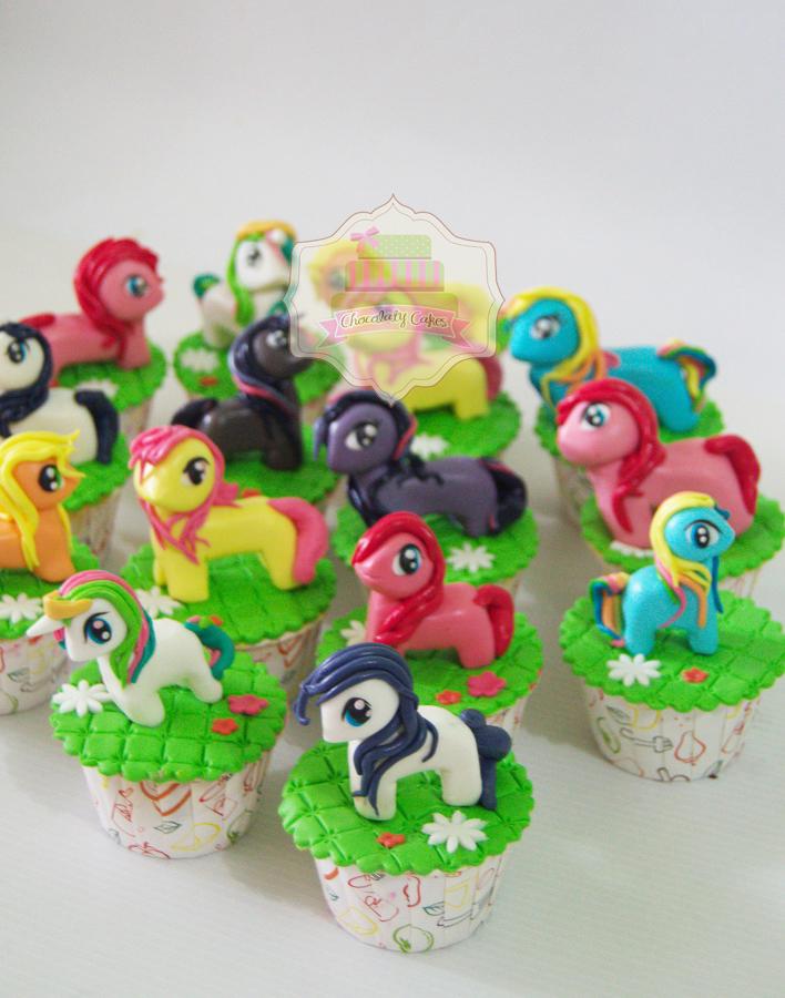 My Little Pony Cupcakes for Rania - Chocolaty Cakes