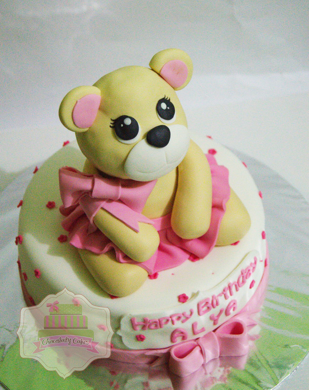 Teddy Bear Cake for Alya - Chocolaty Cakes