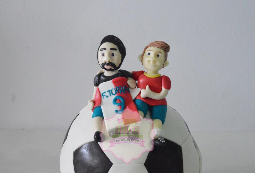 SoccerBallCakeforPutra-ChocolatyCakes