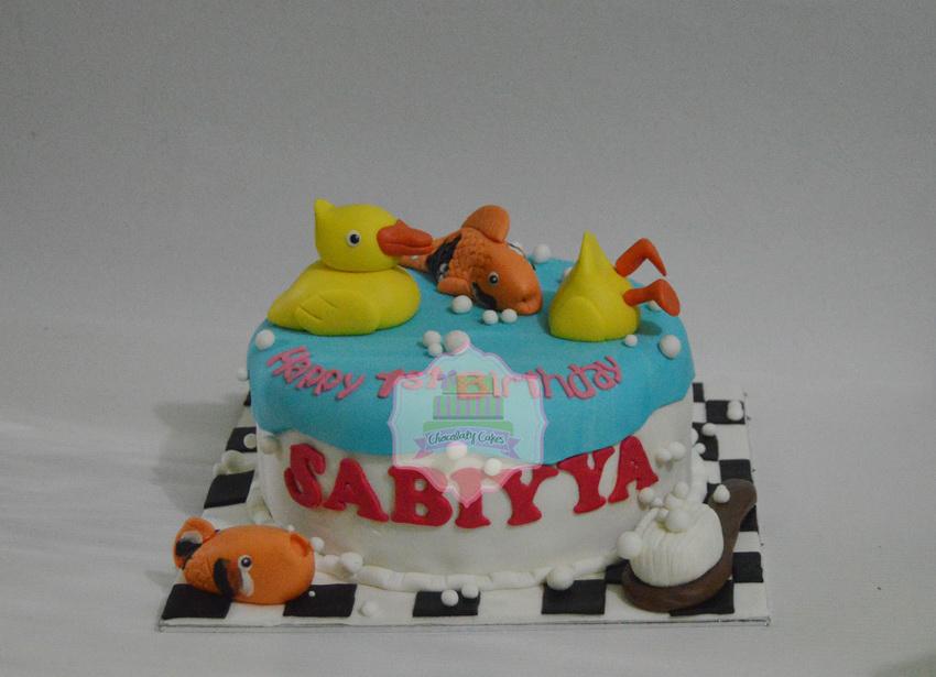 FishandDuckCakeforSabiyya-ChocolatyCakes